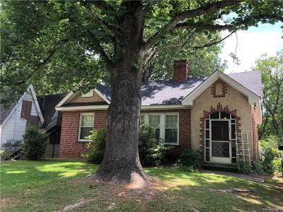 Montgomery Single Family Home For Sale: 406 Ryan Street