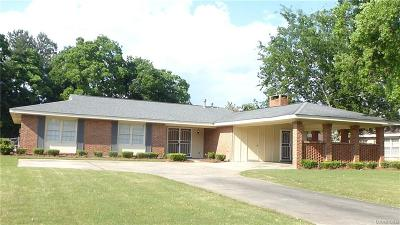 Montgomery AL Single Family Home For Sale: $134,900