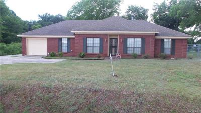 Prattville AL Single Family Home For Sale: $159,900