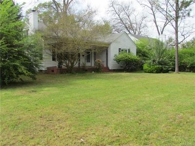 Montgomery Single Family Home For Sale: 3136 S Court Street