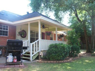 Prattville AL Single Family Home For Sale: $120,000