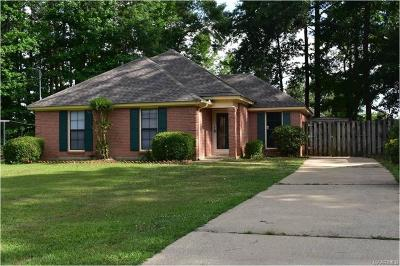 Montgomery Single Family Home For Sale: 6608 Sweet Gum Court