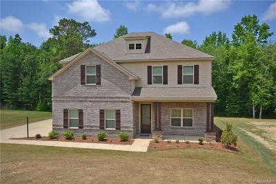 Wetumpka Single Family Home For Sale: 250 Sherwood Trail