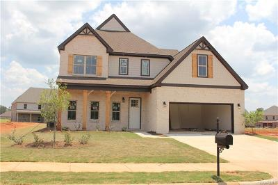 Prattville Single Family Home For Sale: 1349 Tullahoma Drive