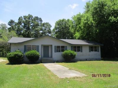 Millbrook Single Family Home For Sale: 4360 Prattville Junction Road