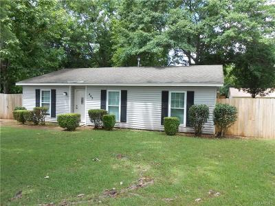 Prattville Single Family Home For Sale: 445 Montana Court