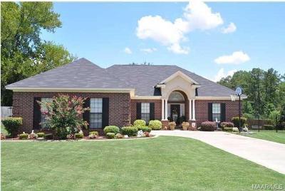 Prattville AL Single Family Home For Sale: $185,000