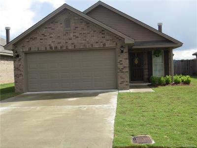 Prattville AL Single Family Home For Sale: $167,000