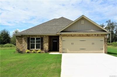Wetumpka Single Family Home For Sale: 2029 Ceasarville Road
