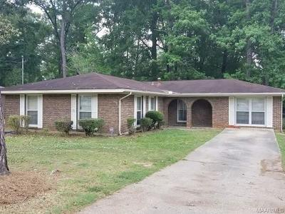 Selma Single Family Home For Sale: 508 Hampton Road