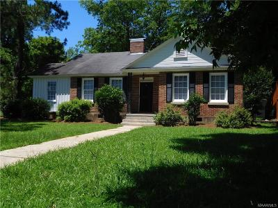 West Wetumpka Single Family Home For Sale: 301 Marshall Street