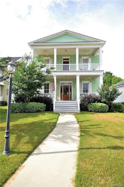 Prattville AL Single Family Home For Sale: $225,000
