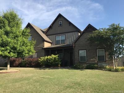 Prattville Single Family Home For Sale: 782 Glennbrooke Boulevard