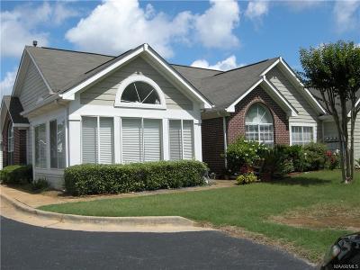 Montgomery AL Condo/Townhouse For Sale: $169,000