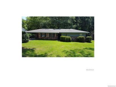 Montgomery AL Single Family Home For Sale: $69,900