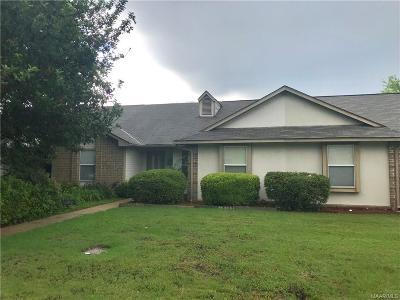 Montgomery AL Condo/Townhouse For Sale: $74,500