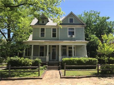 Single Family Home For Sale: 1123 S Hull Street