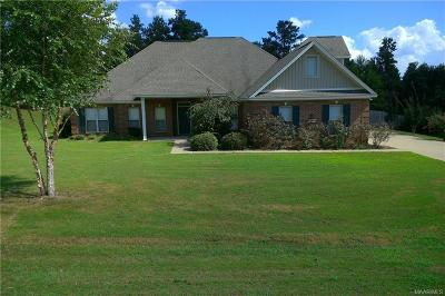 Wetumpka Single Family Home For Sale: 401 Stonegate Trail