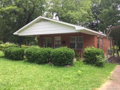 Wetumpka Single Family Home For Sale: 421 Short Street
