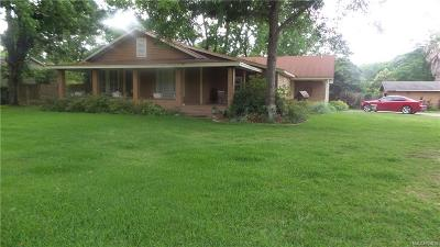 Prattville Single Family Home For Sale: 1183 Upper Kingston Road