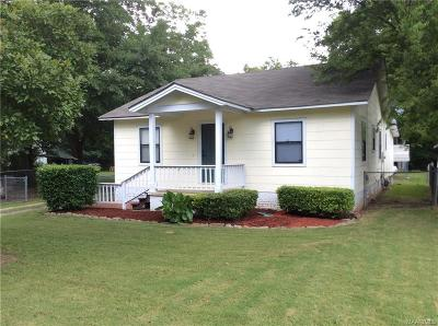Wetumpka Single Family Home For Sale: 706 W Bridge Street