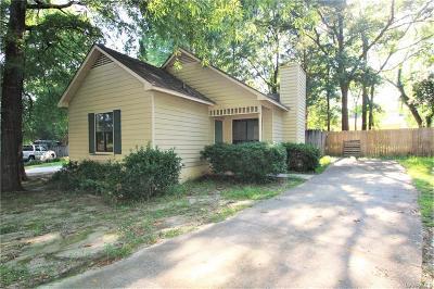 Wetumpka Single Family Home For Sale: 154 Cedar Court
