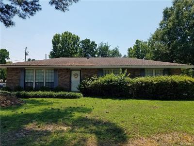 Wetumpka Single Family Home For Sale: 141 Maple Street
