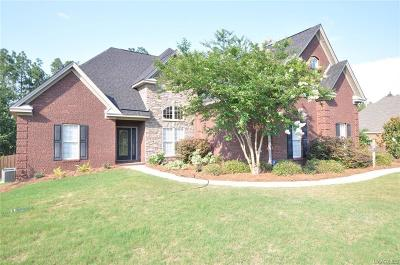 Wetumpka Single Family Home For Sale: 179 Brookwood Drive