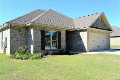 Wetumpka Single Family Home For Sale: 1977 Ceasarville Road