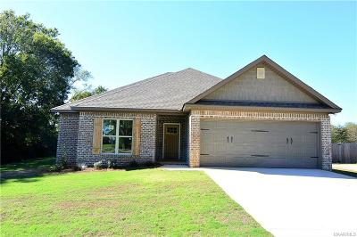 Wetumpka Single Family Home For Sale: 1933 Ceasarville Road