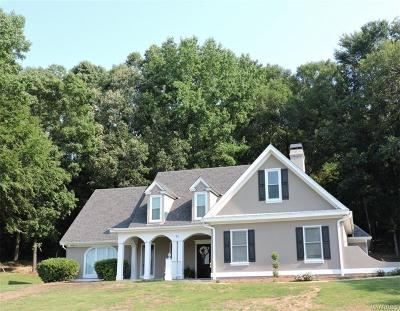 Wetumpka Single Family Home For Sale: 91 Oak Hollow Lane