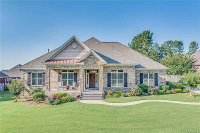 Wetumpka Single Family Home For Sale: 370 Brookwood Drive