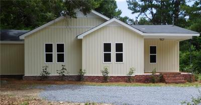 Wetumpka Single Family Home For Sale: 3430 Central Plank Road