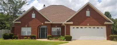 Wetumpka Single Family Home For Sale: 1 Fanoni Lane