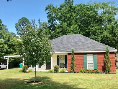 Millbrook Single Family Home For Sale: 2631 Lakeview Circle