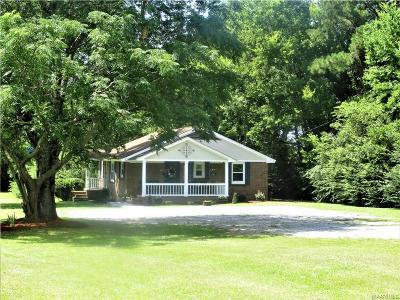 Prattville AL Single Family Home For Sale: $139,900