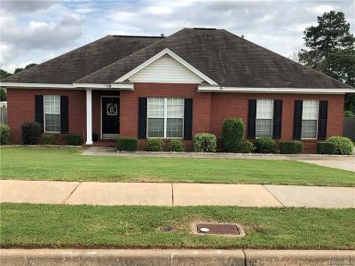 Prattville AL Single Family Home For Sale: $164,000