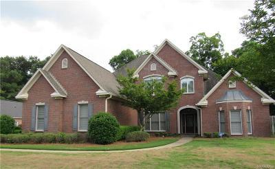 Montgomery Single Family Home For Sale: 6216 Monticello Cove