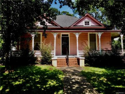 Wetumpka Single Family Home For Sale: 106 N Bridge Street