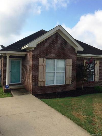Montgomery AL Single Family Home For Sale: $127,900