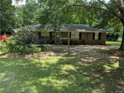Wetumpka Single Family Home For Sale: 224 3rd Street