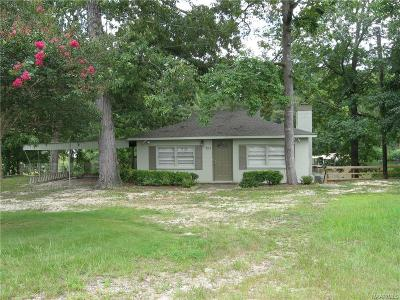 Titus Single Family Home For Sale: 395 Joes Fish Camp Road
