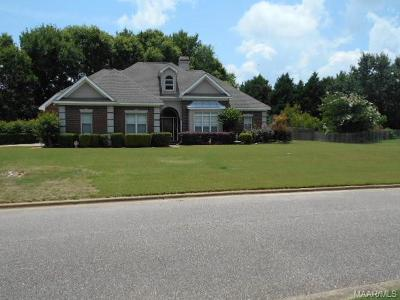 Wetumpka Single Family Home For Sale: 54 Meadow Wood Street