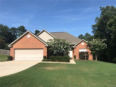 Wetumpka Single Family Home For Sale: 4858 Jackson Road