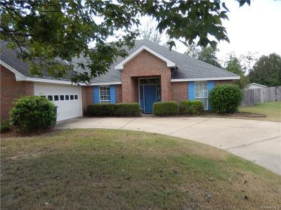 Montgomery Single Family Home For Sale: 7216 Old Barn Road