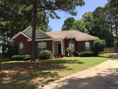 Wetumpka Single Family Home For Sale: 77 Bowen Bend
