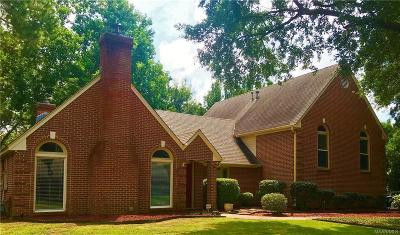 Montgomery AL Single Family Home For Sale: $256,000