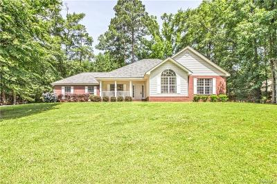 Wetumpka Single Family Home For Sale: 284 Hill Ridge Drive
