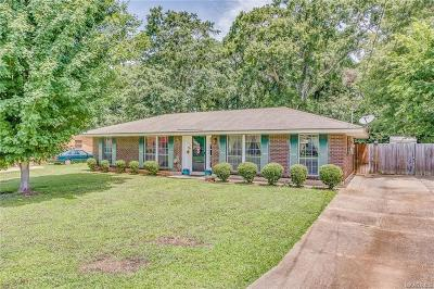 Prattville Single Family Home For Sale: 116 Patrick Street