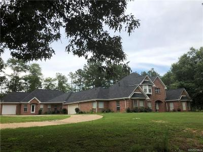 Prattville Single Family Home For Sale: 1320 County Road 85